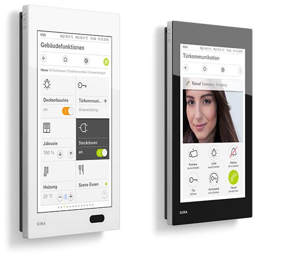 gira g1 smarthome knx visualisierung geb udetechnik. Black Bedroom Furniture Sets. Home Design Ideas